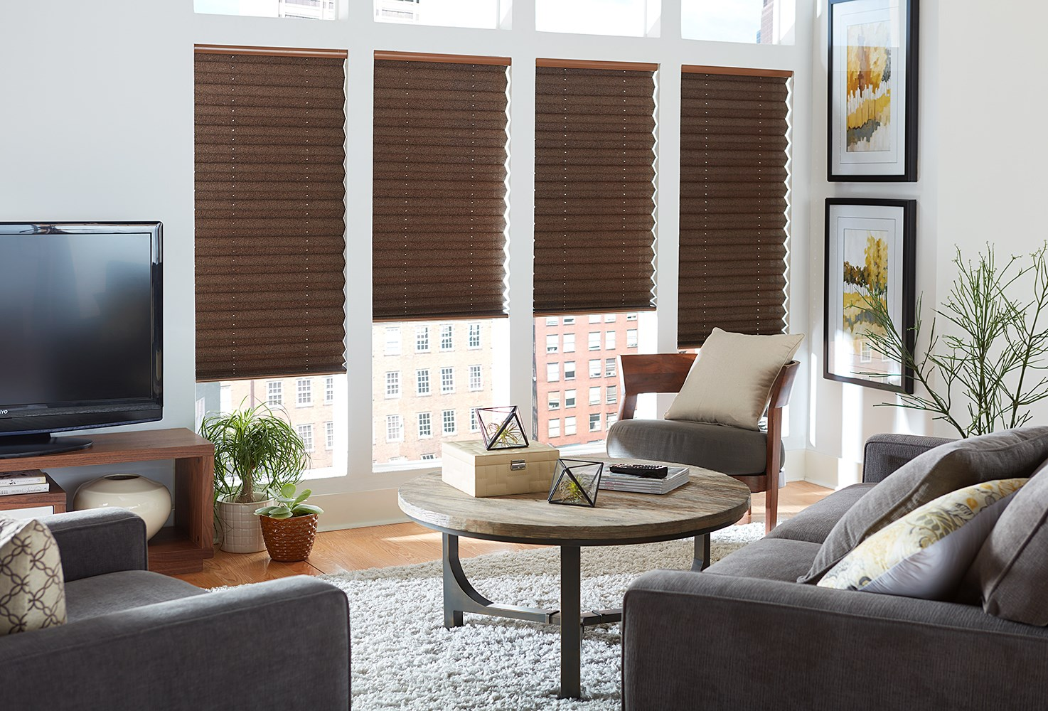 "Blinds.com:  Signature 2"" Pleated Shade"