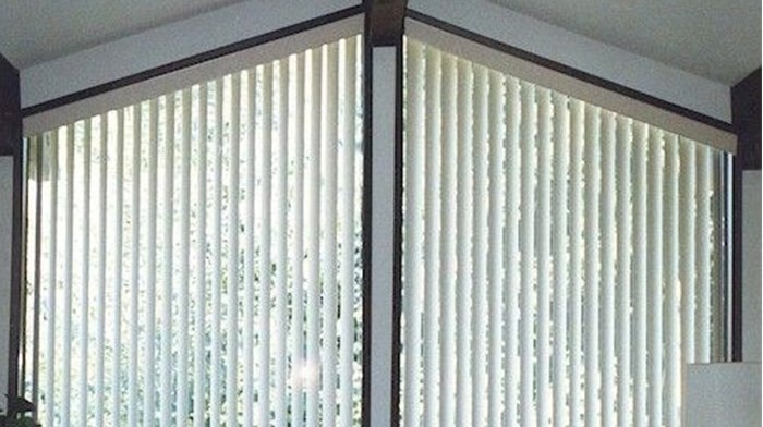 Bali:  Angle Top Vertical Blind
