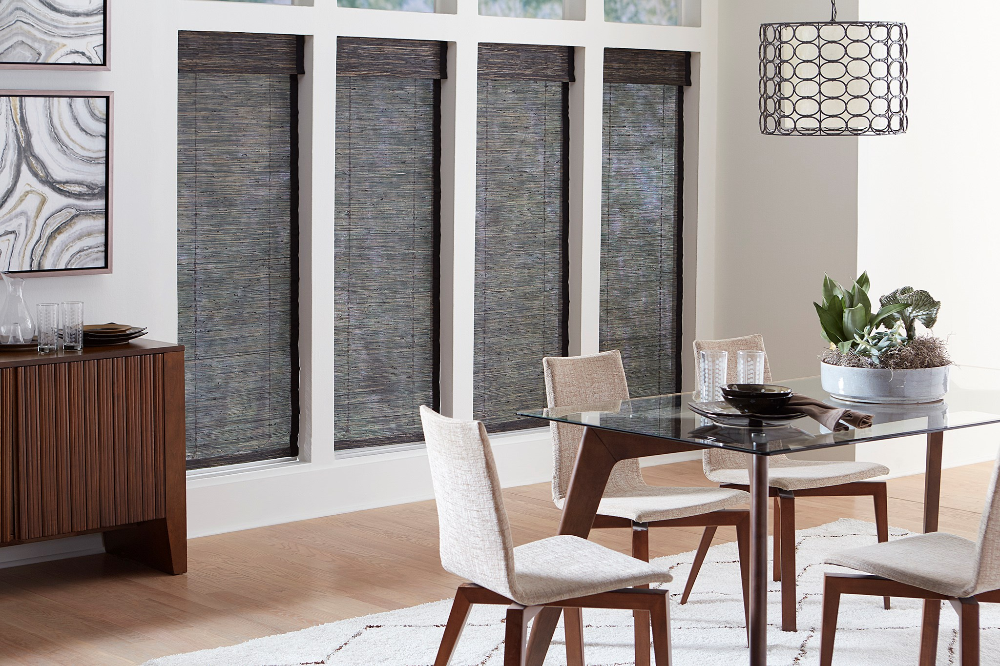 Blinds.com:  Woven Wood Shade