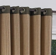 Blinds.com: Woven Wood Grommet Drapery