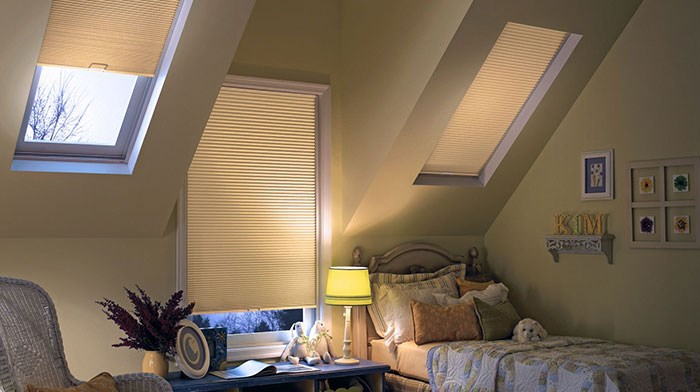 Bali:  DiamondCell Blackout Cellular Skylight