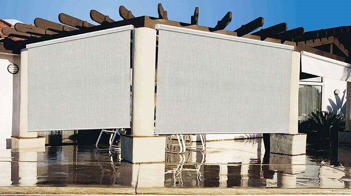 exterior roller shades for patio. coolaroo solar outdoor shade exterior roller shades for patio