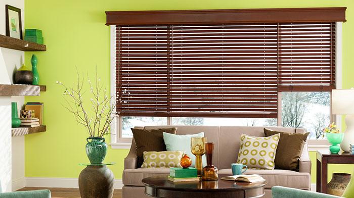 Wood Blinds Custom Window Wooden Blinds Blindscom