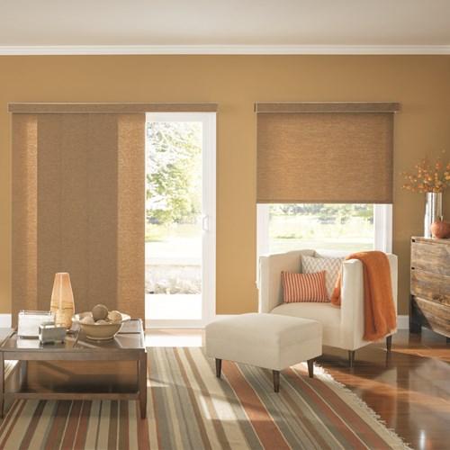 Bali Fabric Sliding Window Panels