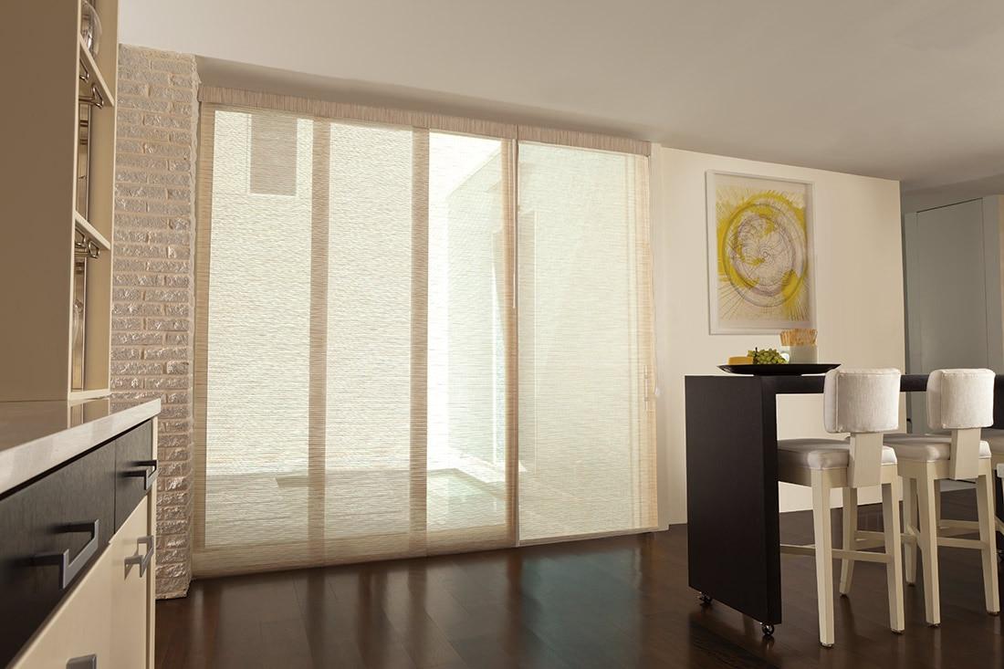 Marvelous Levolor Fabric Sliding Panel | Blinds.com™
