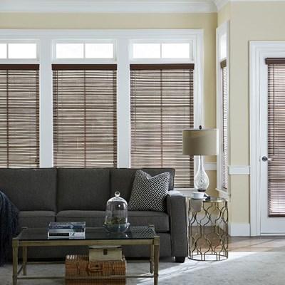 1 inch faux wood blinds. Black Bedroom Furniture Sets. Home Design Ideas