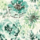 Color Sample - Watercolor Floral 5% Green SG1026
