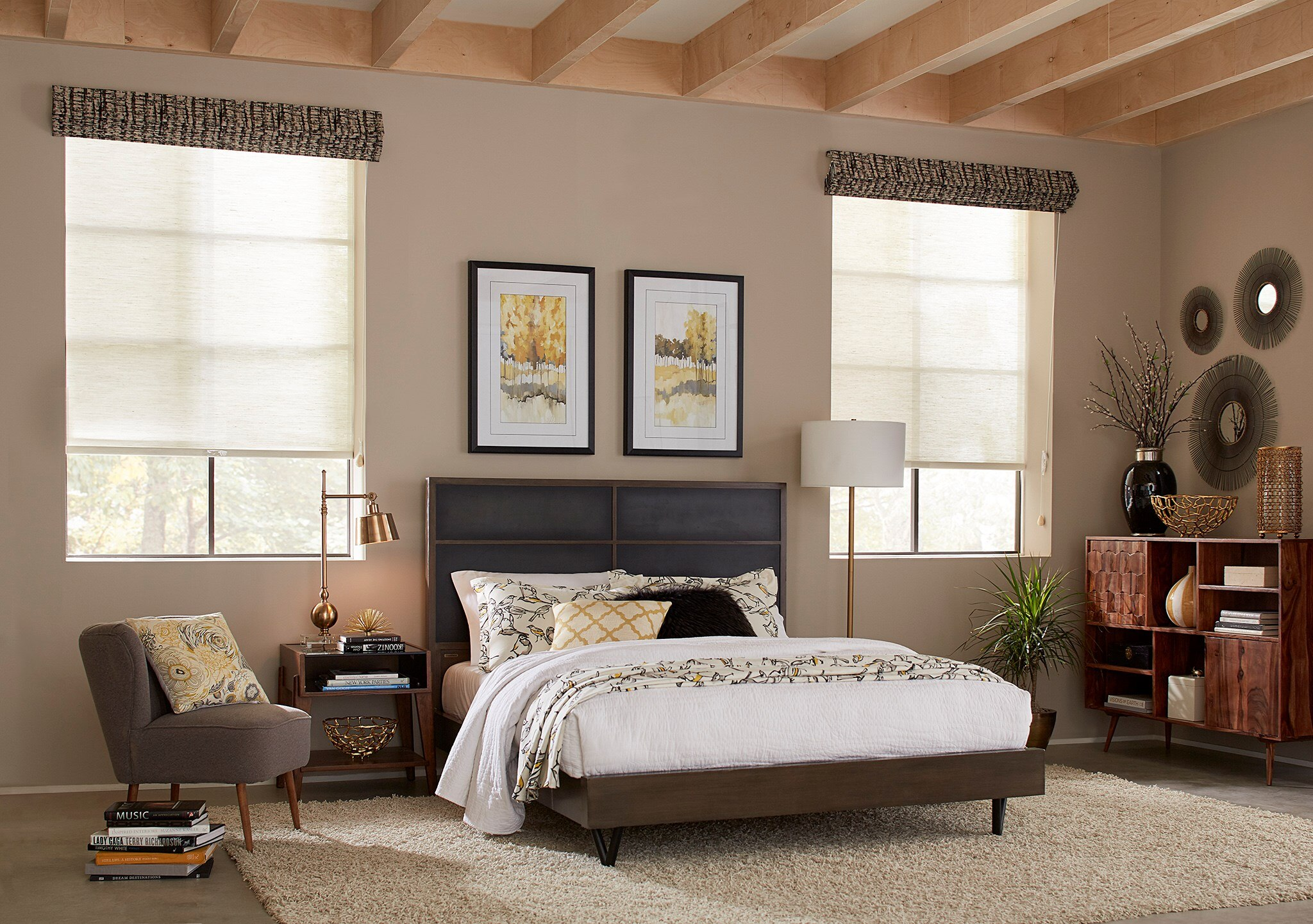 Signature Natural Light Filtering Roller Shade