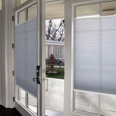 French Door Light Filtering Shade Blinds Com