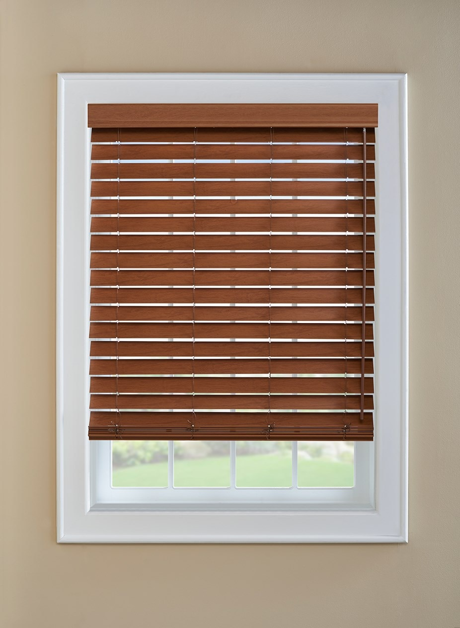 "Visions 2"" Faux Wood Blind"