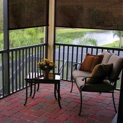 Coolaroo outdoor sun shade - Exterior sun blocking window shades ...