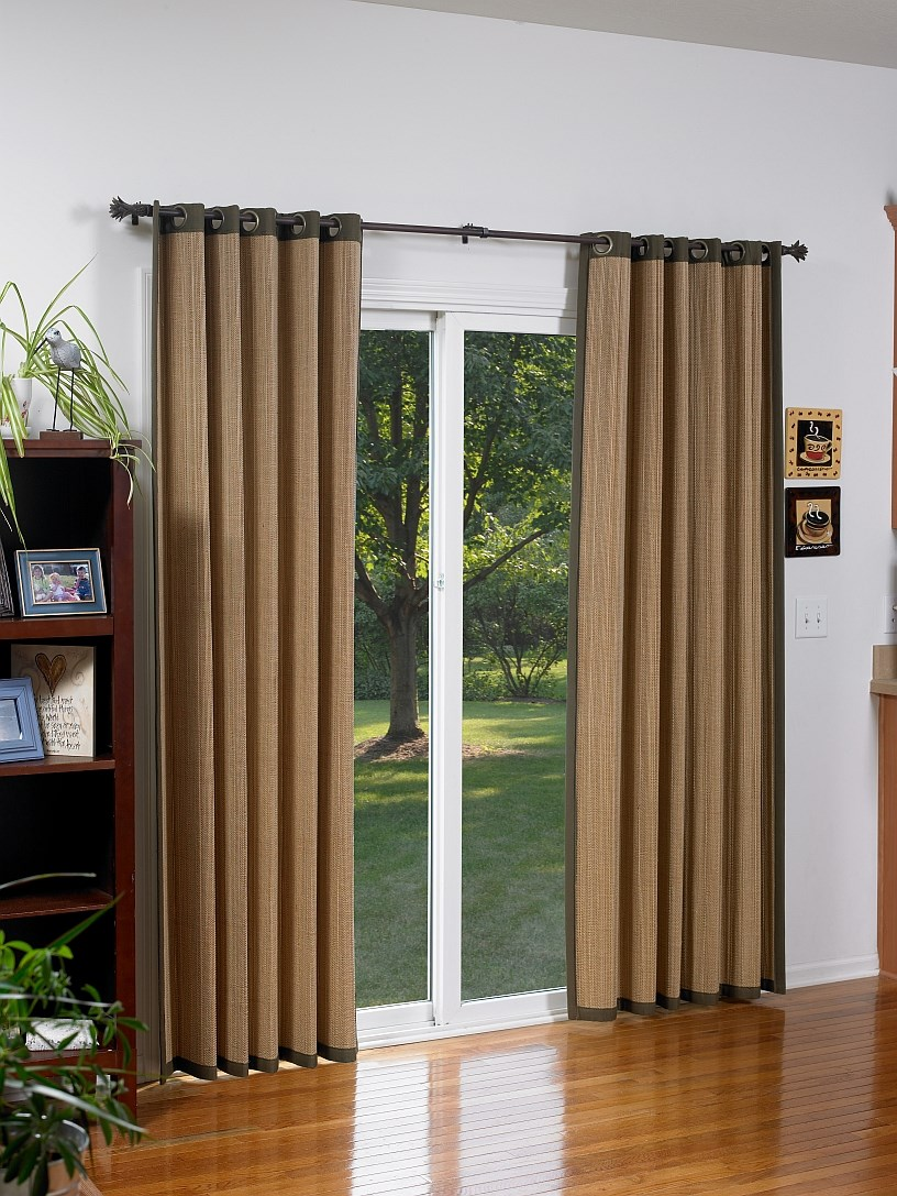 96 inch wide blinds roll woven wood grommet drapery bamboo window panels blindscom