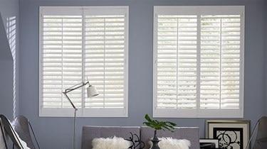 blindscom simplicity wood shutter - Blackout Blinds For Baby Room