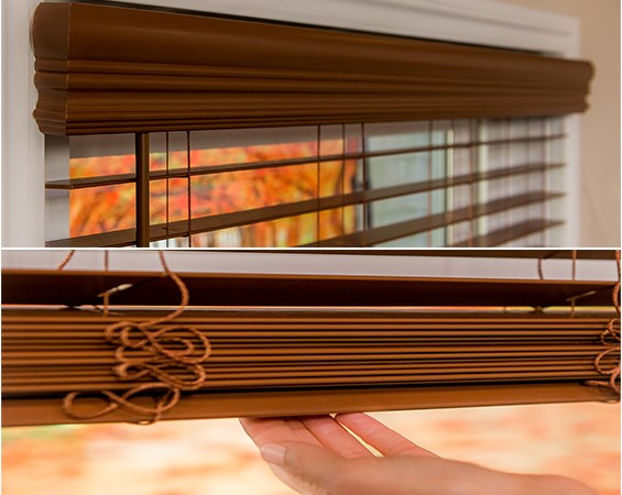 2 Quot Faux Wood Blinds Blinds Com