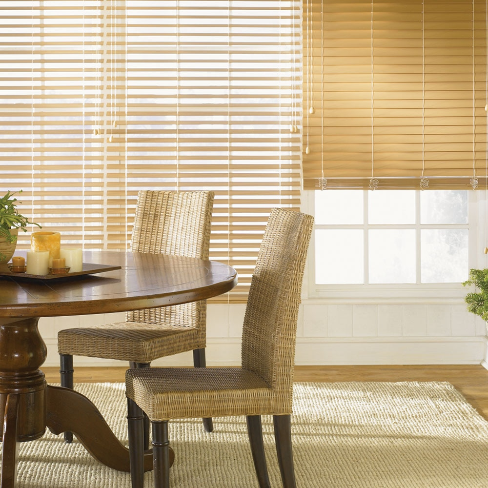 "2 1/2"" fauxwood blinds 
