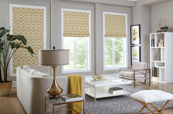Classic Roman Shade Blinds Com
