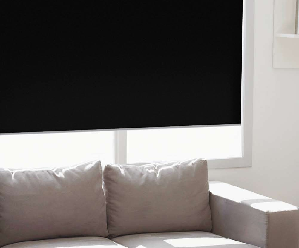 Economy Blackout Roller Shade