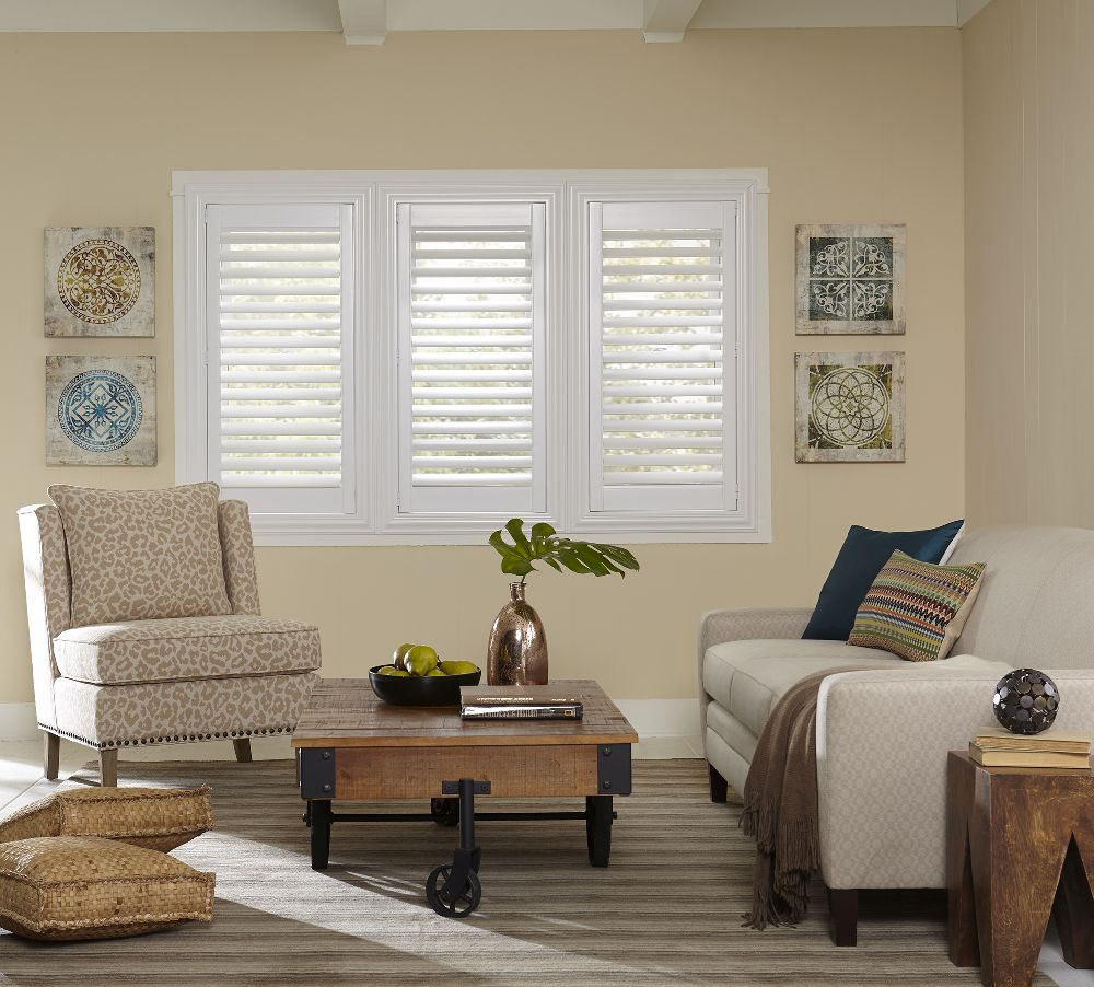 Economy faux wood shutters blinds