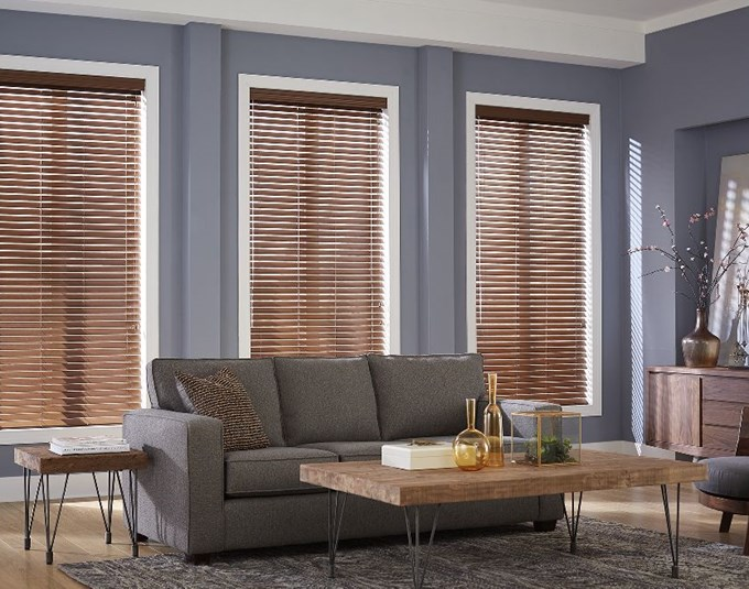 2 Quot Premium Faux Wood Blinds Blinds Com