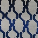 Color Sample - Interlace Navy AS22388-9