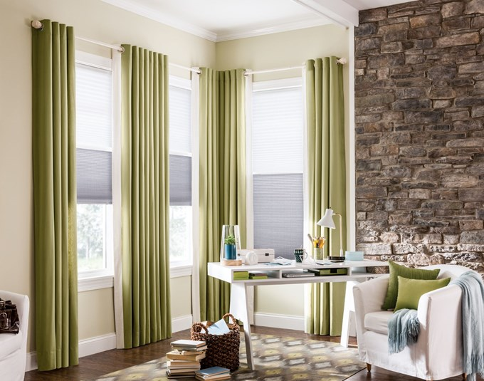 Bali Diamondcell Cellular Shades Northern Lights Storm Illusion