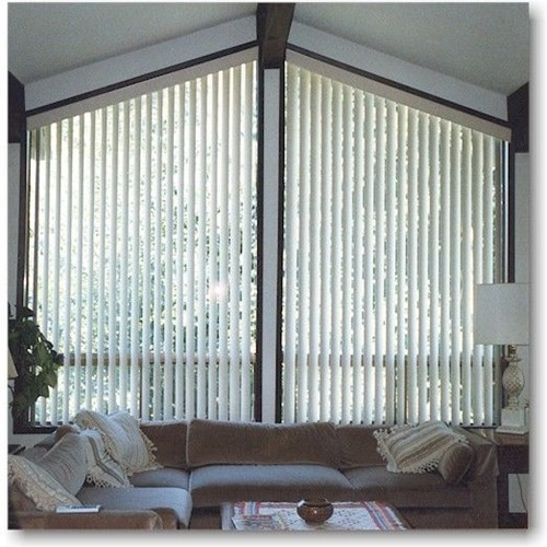 Angle Top Vertical Blind