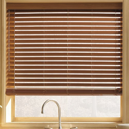 Nuwood 2 In Faux Wood Blind Blinds Com