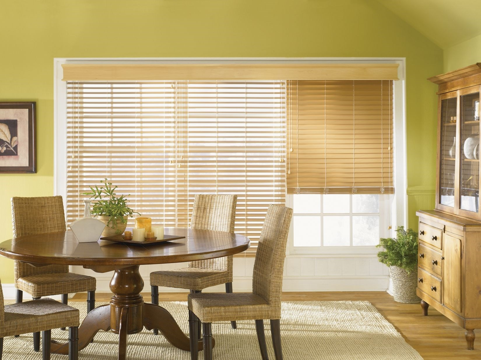 "2""  Faux Wood Blinds"
