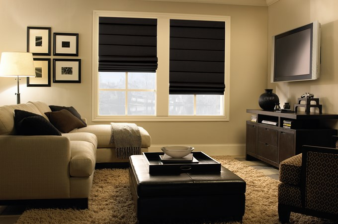 Super Levolor Roman Shades - Levolor Classic Roman Shade - Blinds.com IH37