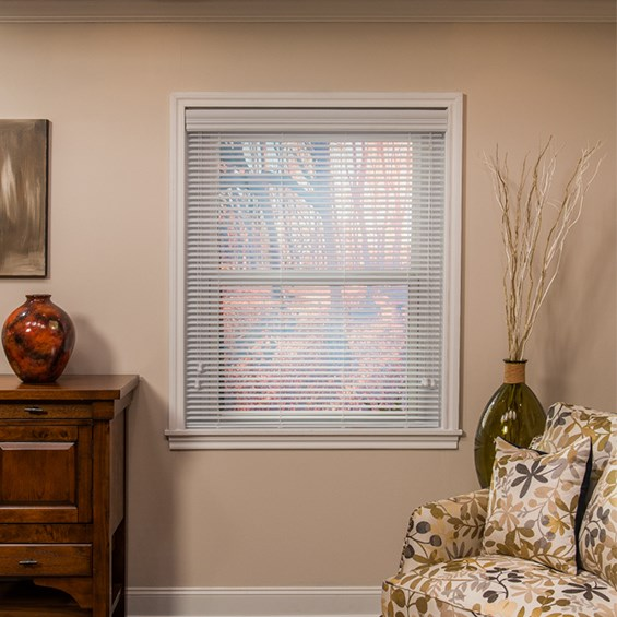 "1"" Faux Wood Blind"