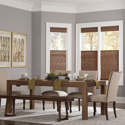 living room window coverings. Blinds com Woven Wood Shade Living Room Window Treatments  Drapes