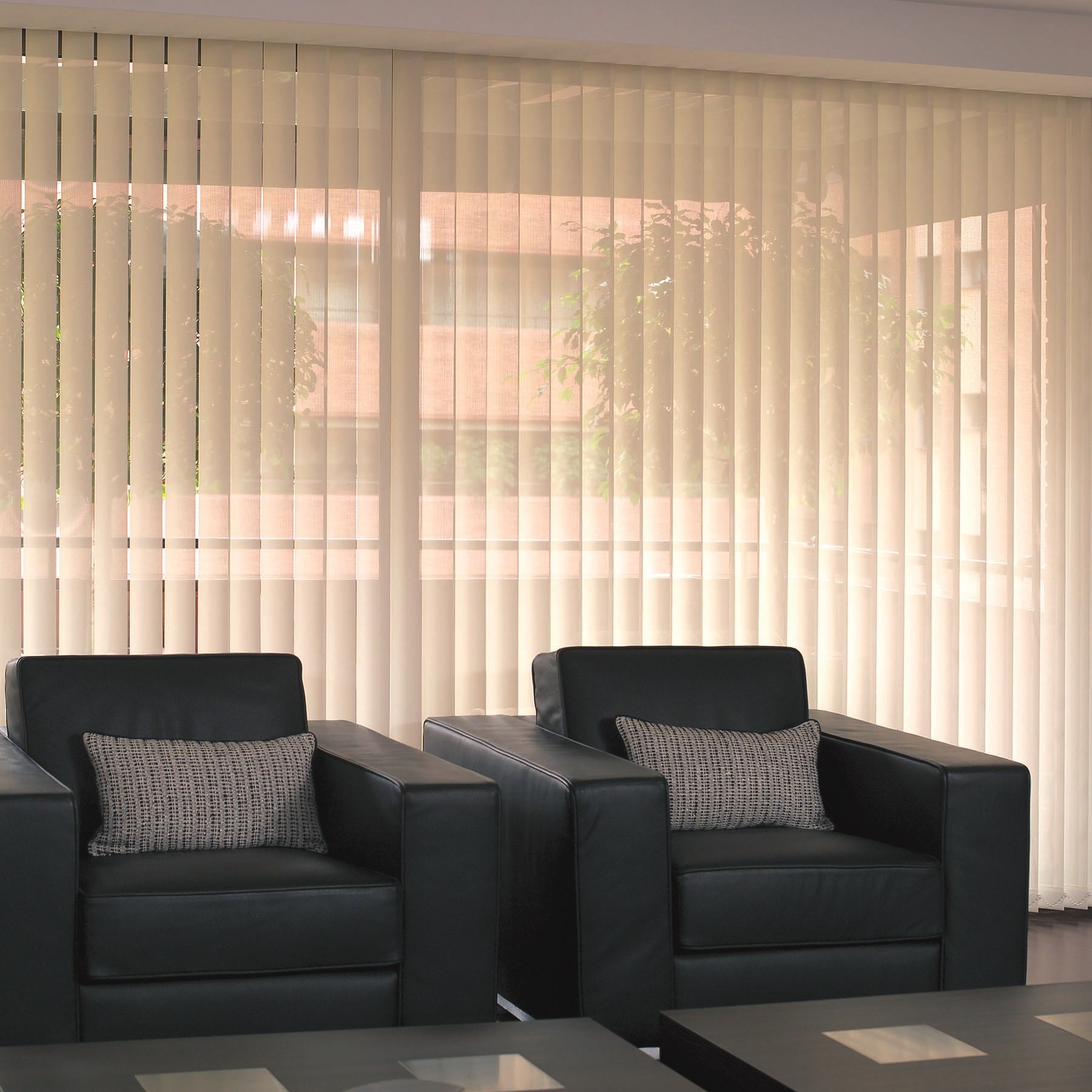 Fabric Vertical Window Blinds