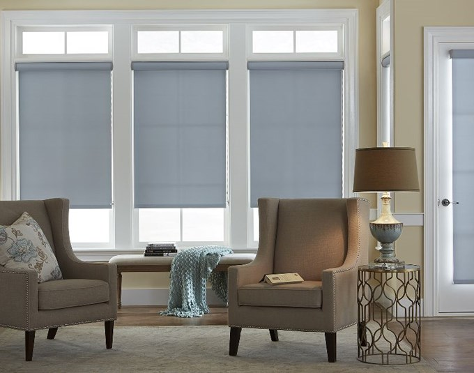 Economy Blackout Roller Shades Blinds Com
