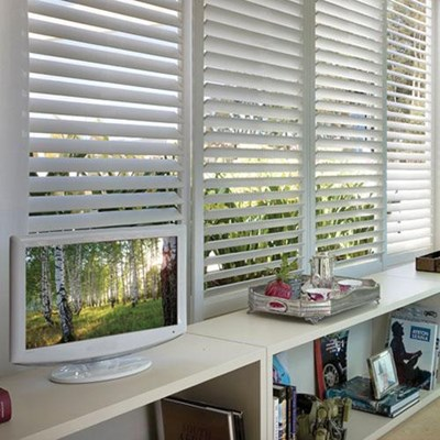 Sliding shutters track fauxwood shutter blinds product planetlyrics Image collections