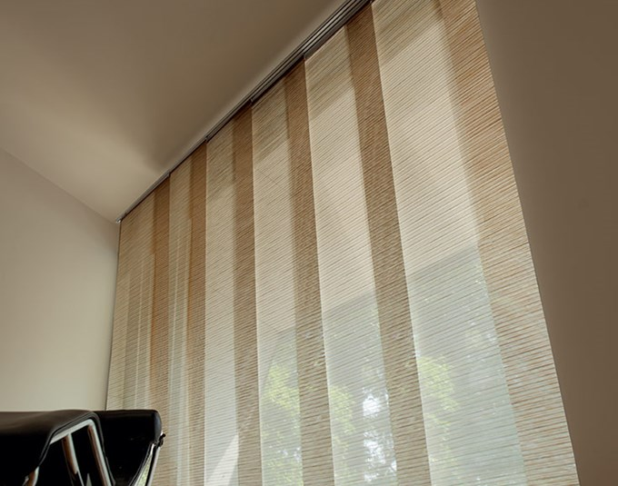 Levolor Fabric Sliding Panels Blinds Com