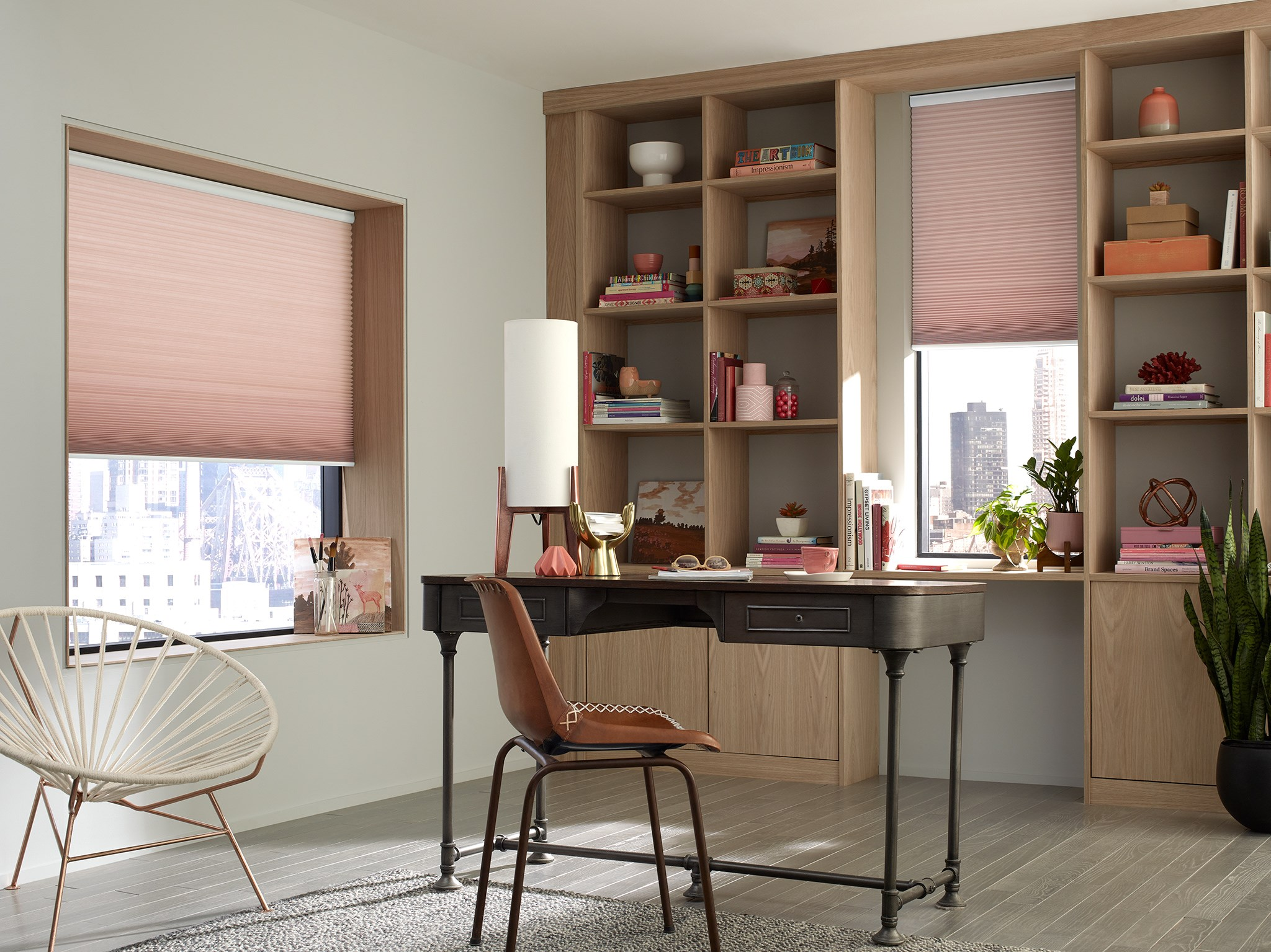 Economy Light Filtering Cellular Shades