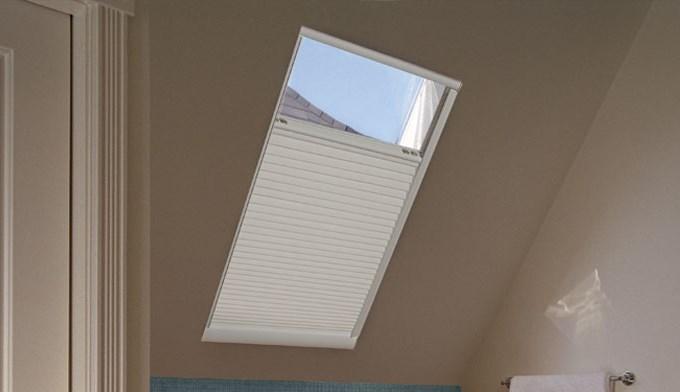 Motorized cellular light filtering skylight blinds motorized light filtering cellular skylight solutioingenieria Images