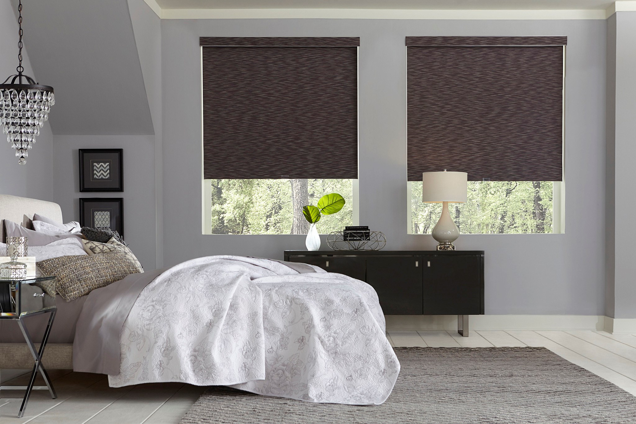 Signature Natural Blackout Roller Shade Photo Gallery