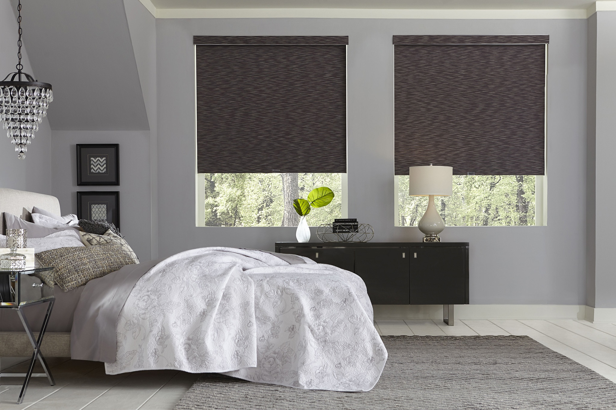 Blackout Roller Shades Motorized Blackout Roller Shades
