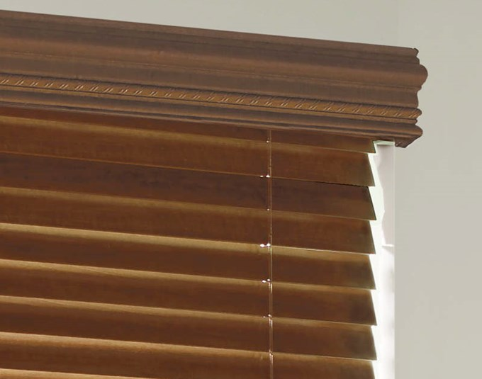 Levolor Decorative Wood Cornice Blinds Com