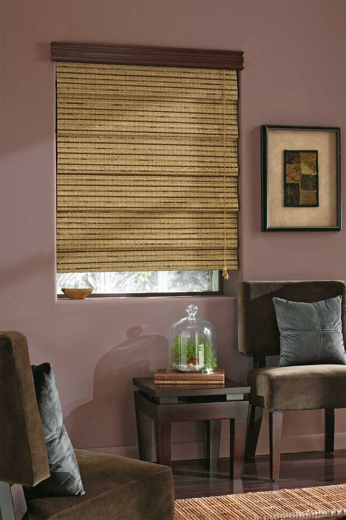 Natural Woven Wood Shade