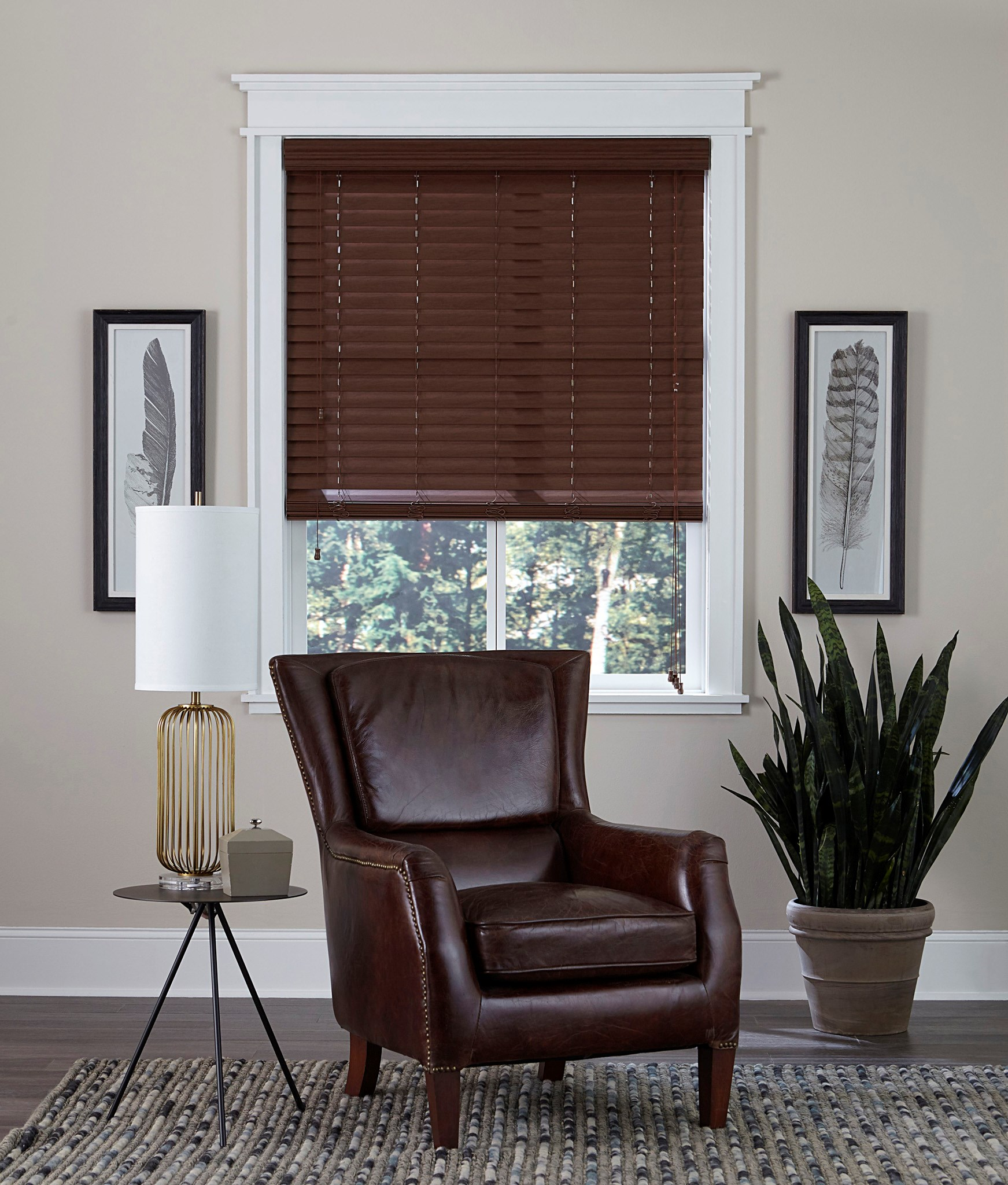 "2"" Faux Wood Blind"