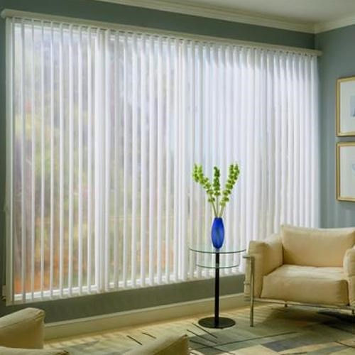 Faux Wood Vertical Blind