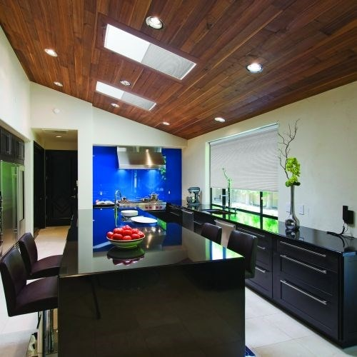Motorized Blackout Cellular Skylight