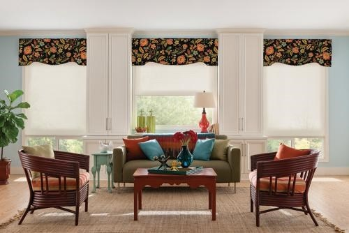 Bali Fabric Wrapped Cornices Blindscom
