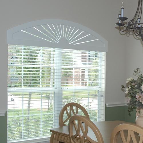 Custom Composite Wood Window Arches Blinds Com