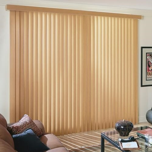 Faux Wood Vertical Blinds Blinds Com