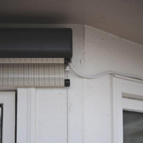 Heavy Duty Outdoor Solar Shade