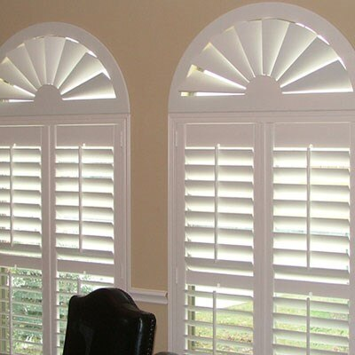 Custom Composite Wood Window Arches Blinds Com