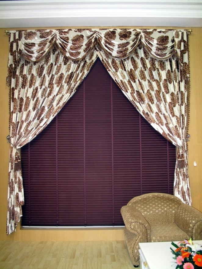 Double Wide Window, Curtains and Purple Blinds_resized.jpg